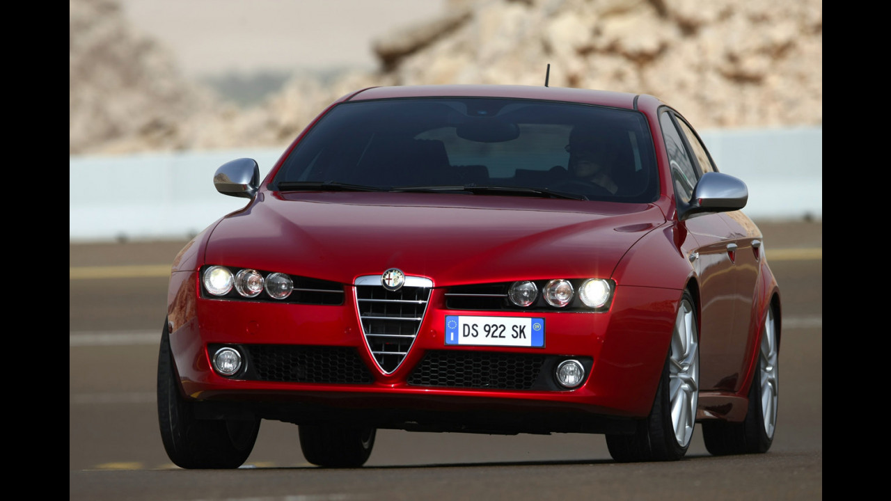 Alfa Romeo 159 e le Best Roads