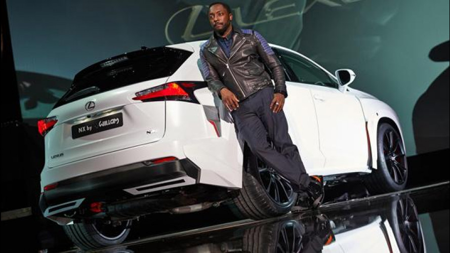 Lexus NX by will.i.am, un'altra musica
