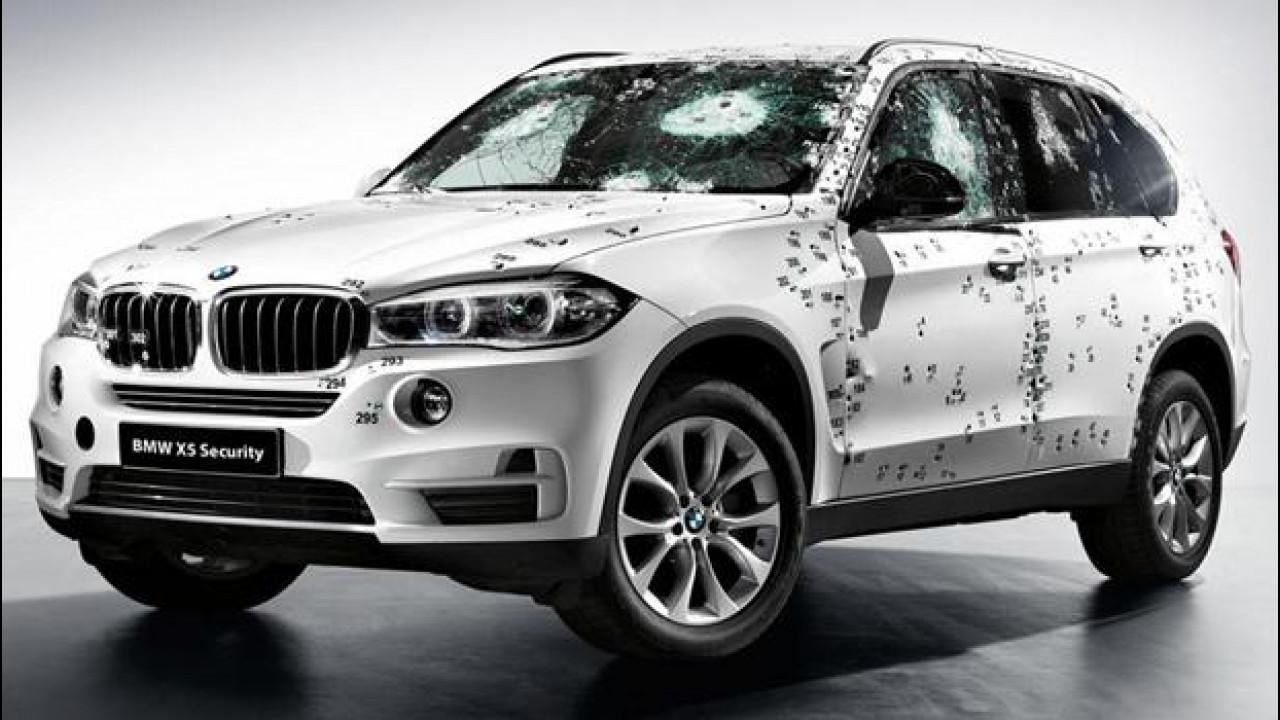 [Copertina] - BMW presenta in Russia la X5 che non teme i Kalashnikov