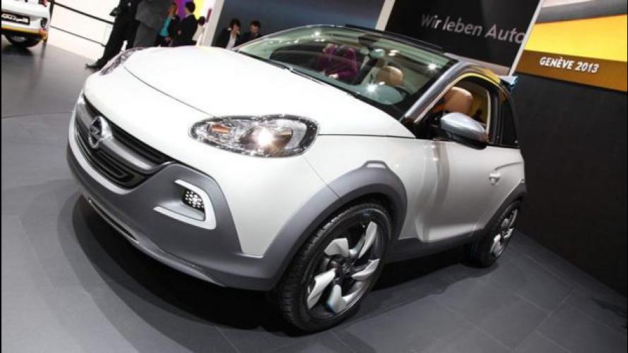 """Salone di Ginevra: Opel Adam ROCKS Concept, non chiamatela """"prototipo"""""""
