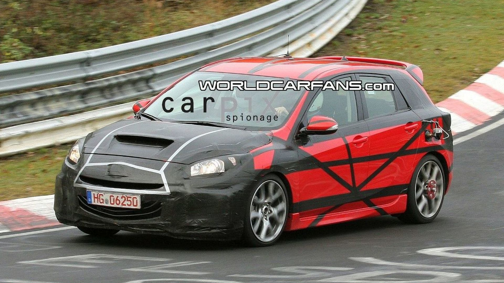 All New Mazdaspeed3 Aka Mazda3 Mps Hatchback Spotted For First Time