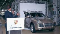 100,000th Porsche Cayenne