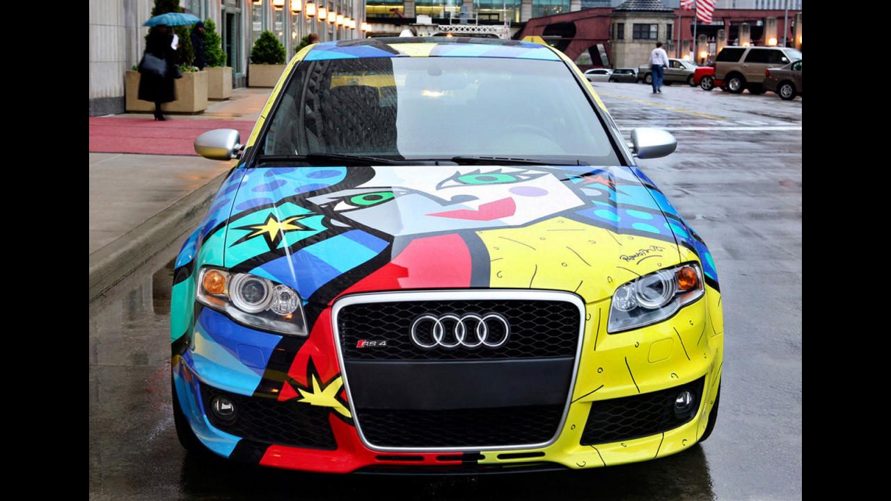 Audi RS4 Art Car by Romero Britto