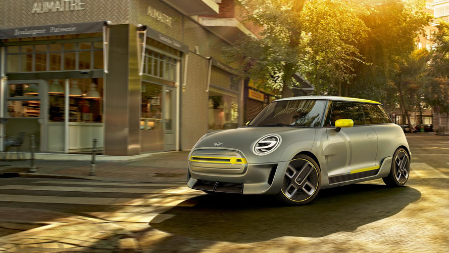 Mini Electric Concept Previews 2019 EV