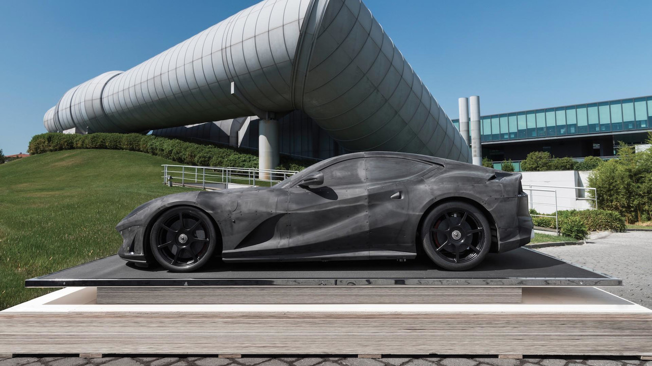 Ferrari 812 Superfast Wind Tunnel Model Motor1 Com Photos