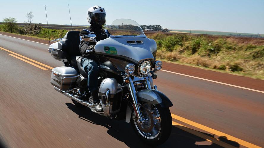 """Encontro nacional da Harley-Davidson reúne 800 motos - incluindo a """"nossa"""" Road King"""