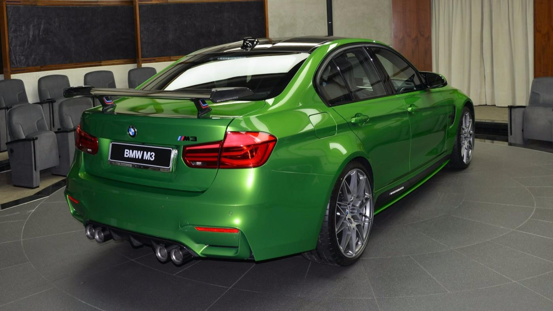 Fully Loaded BMW M3 Java Green Is The Antonym Of Subtle