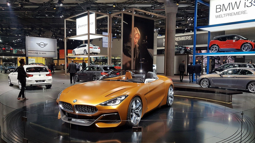 Take A Sneak Peek At BMW's Frankfurt Hall