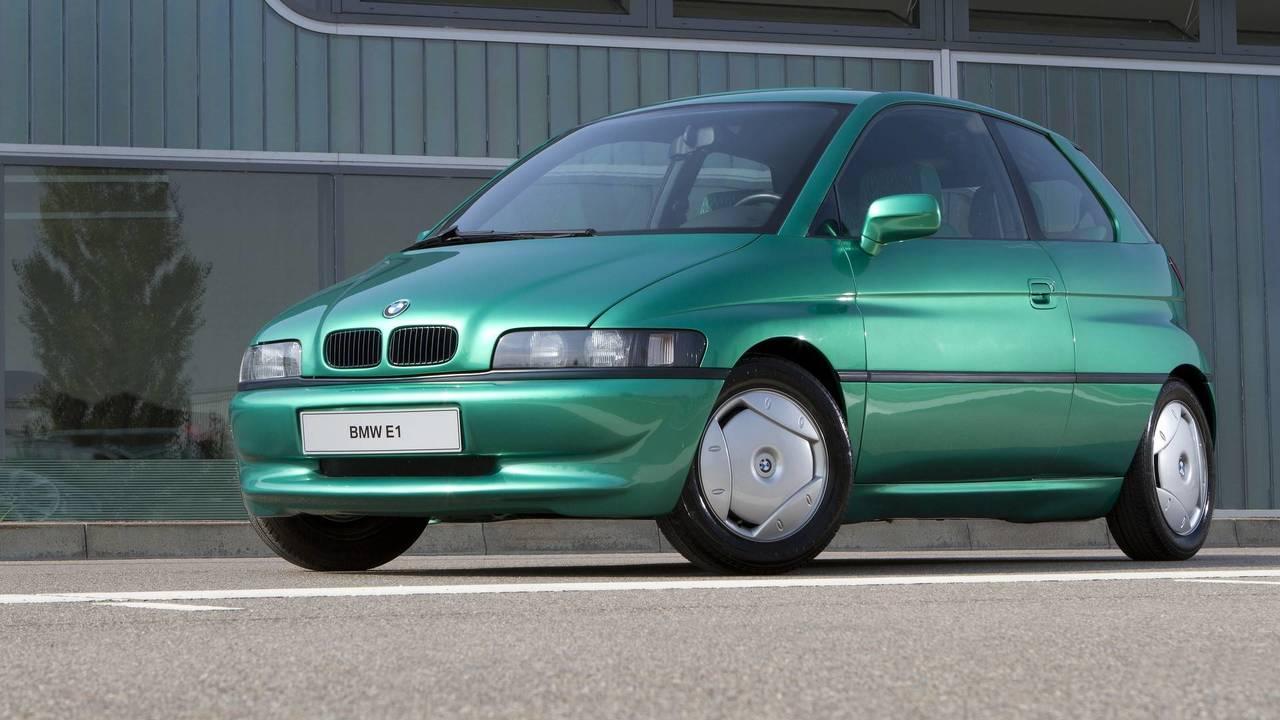 Prototipo olvidado BMW E1 concept de 1991