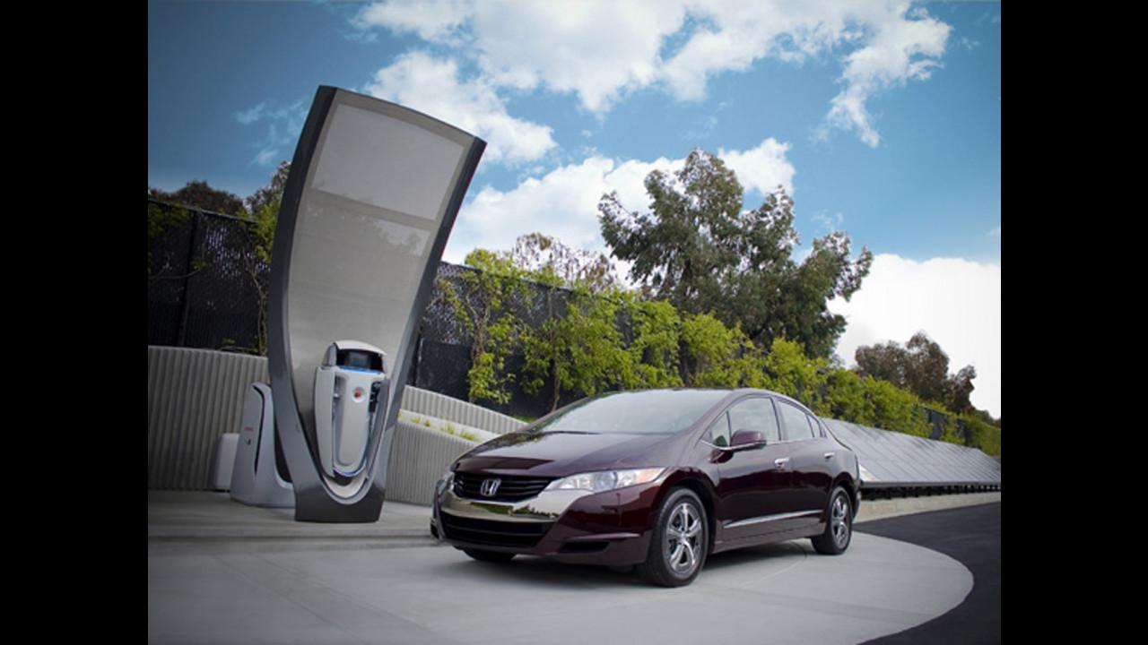 Honda sperimenta la stazione solare a idrogeno