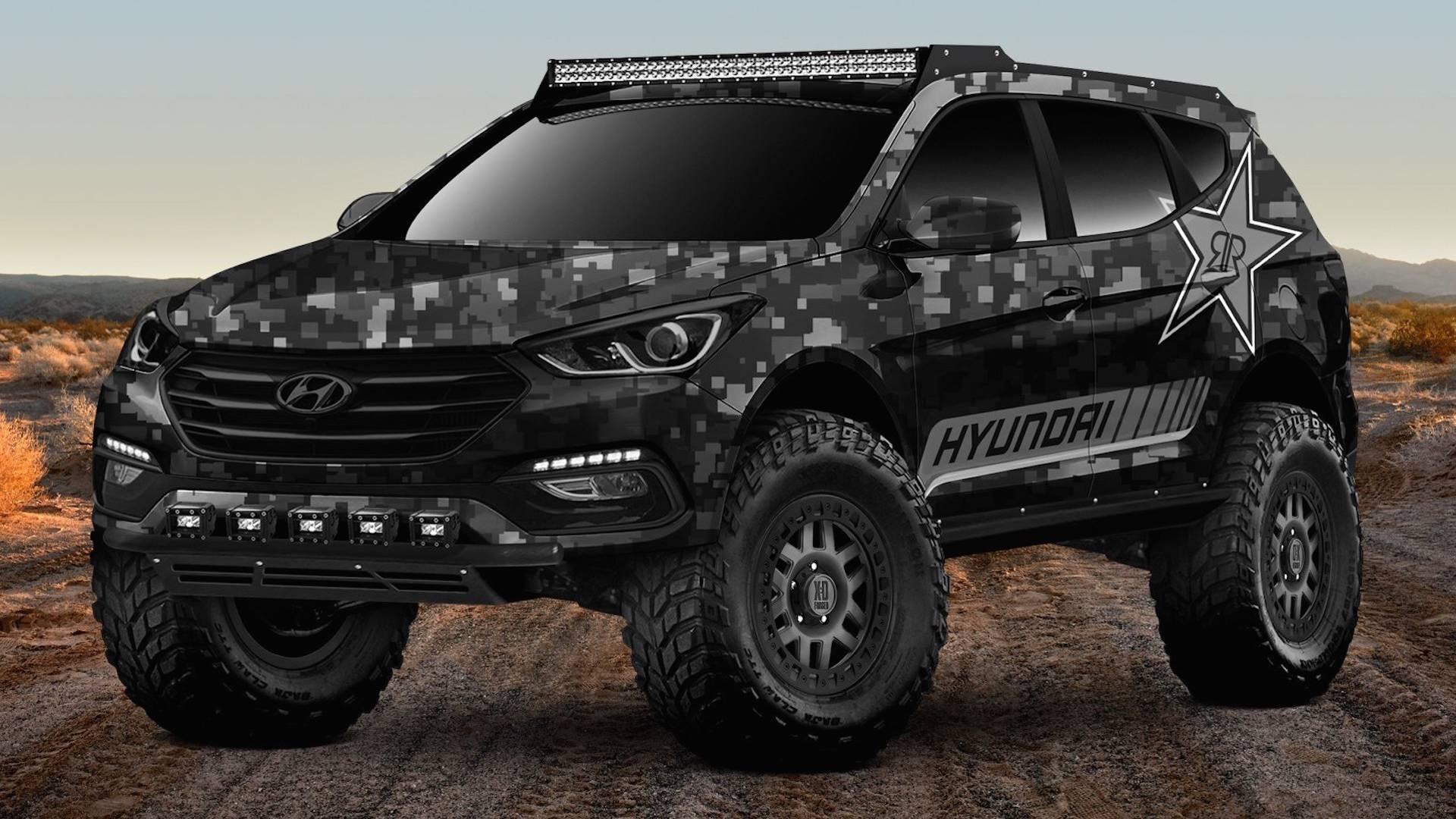 Hyundai Previews Extreme Santa Fe Sport Concept For Sema