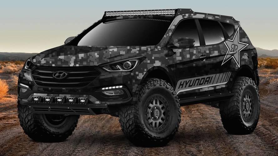Rockstar Hyundai Santa Fe Concept