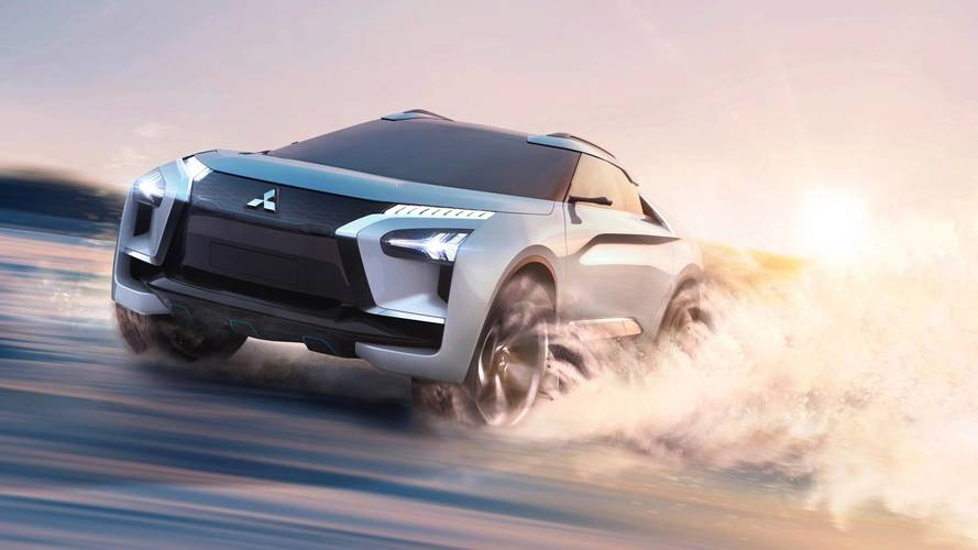 Mitsubishi e-Evolution SUV Concept showcases future tech