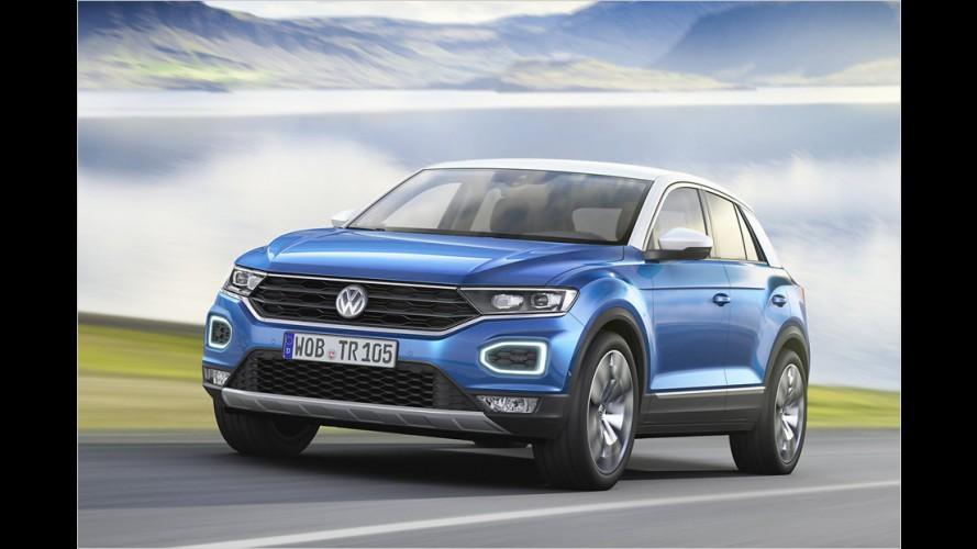 VW T-Roc startet im November 2017
