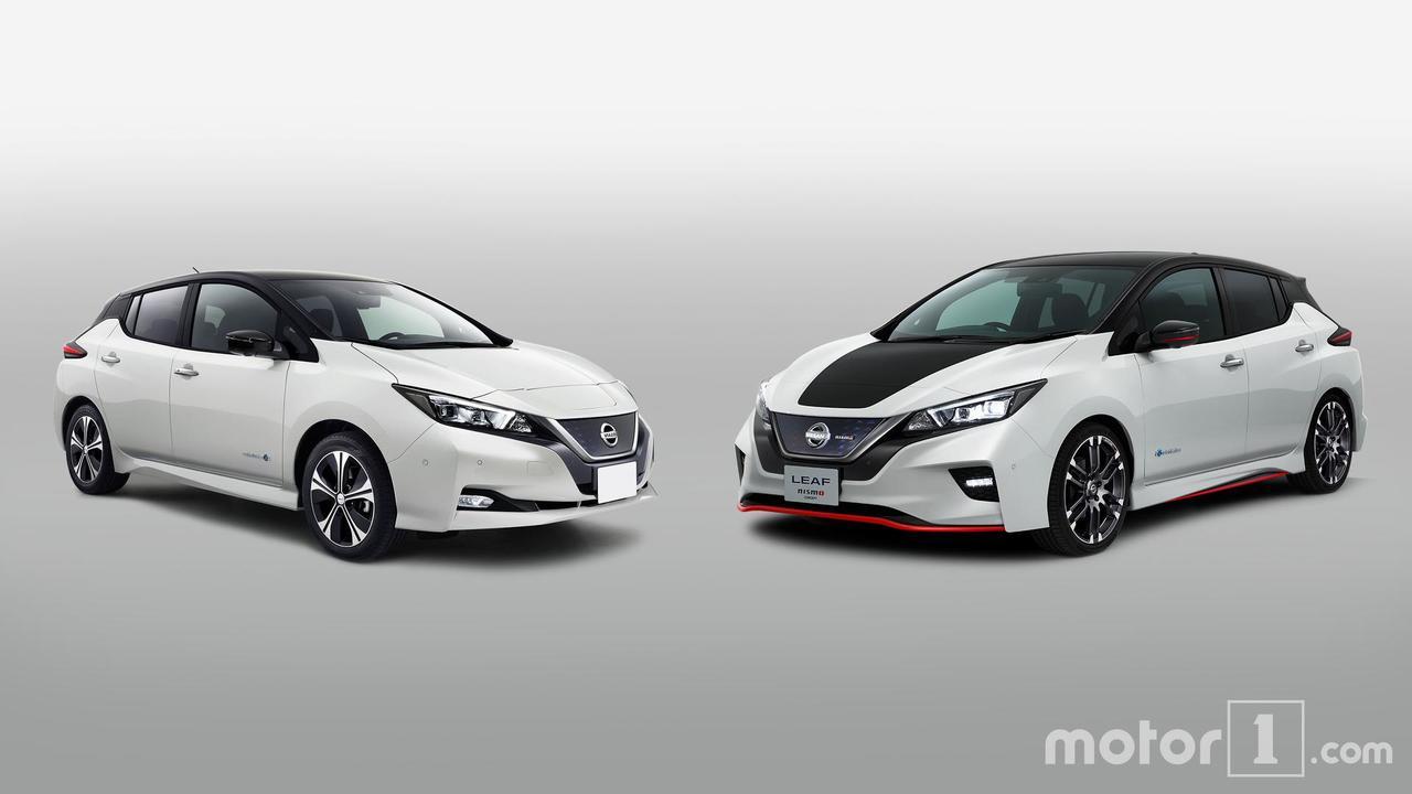 Nissan Leaf vs Nissan Leaf Nismo Concept