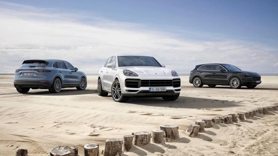 2017 Porsche Cayenne, Cayenne S, Cayenne Turbo