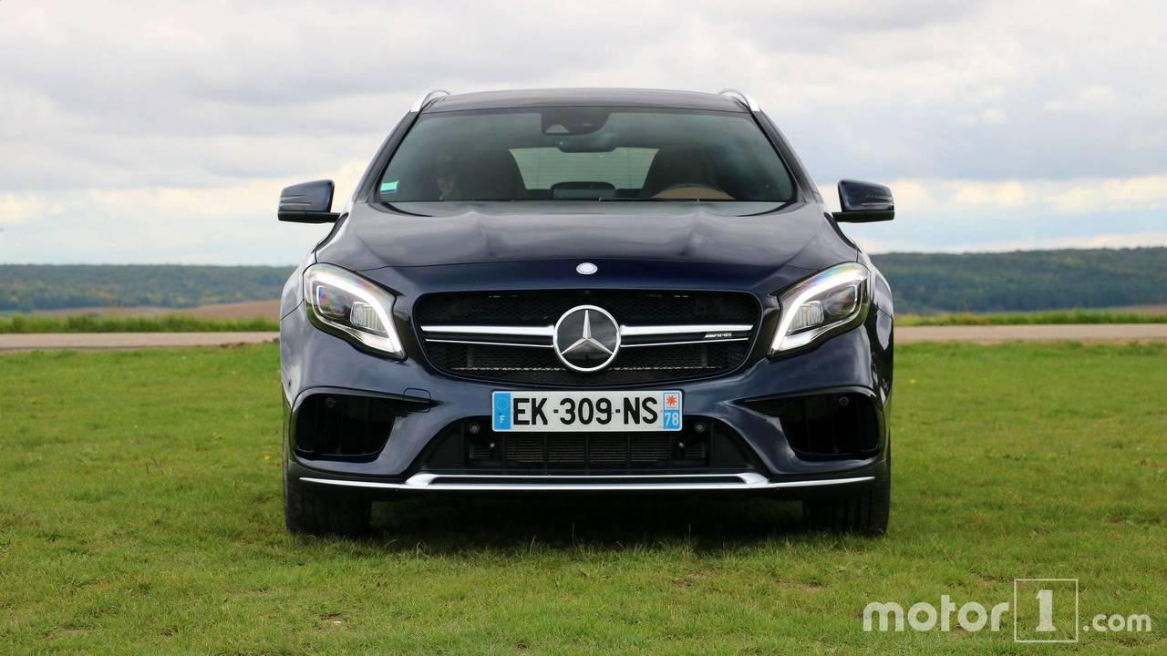 Essai Mercedes-AMG GLA 45