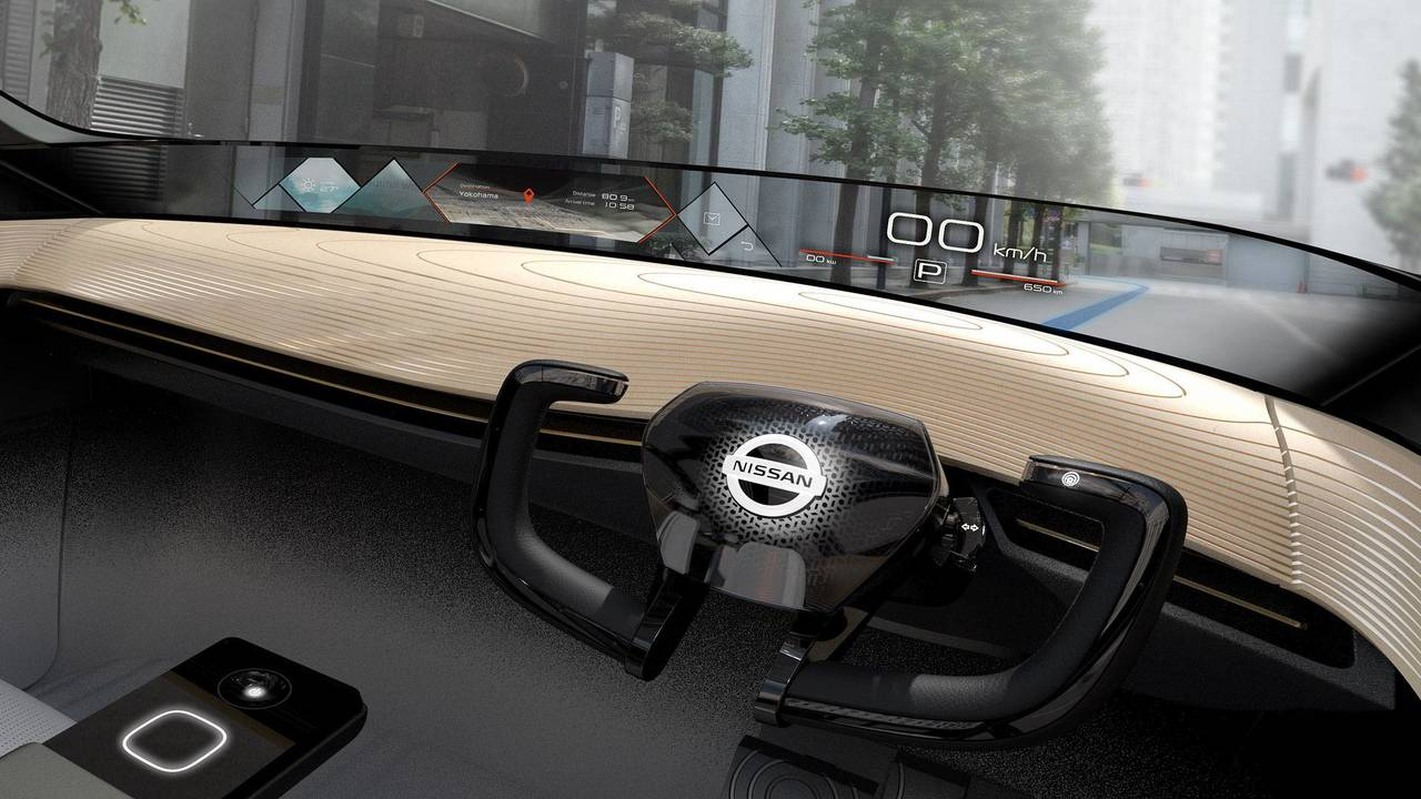 Nissan IMx Concept display