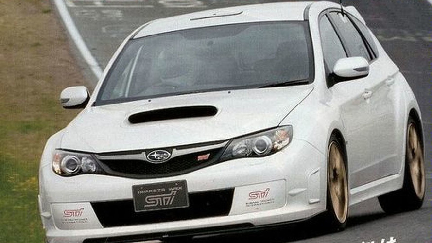 Subaru Impreza WRX STI Spec C Spied at the Ring?