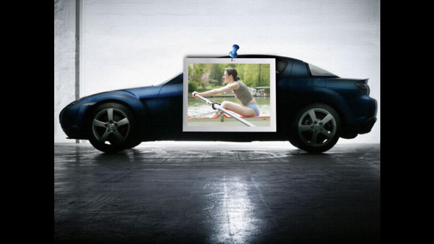 Mazda in fuga!