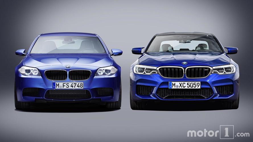 Comparaison - La nouvelle BMW M5 face à l'ancienne