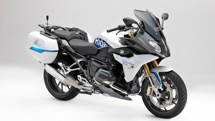BMW Unveils The Chattiest R 1200 RS Ever