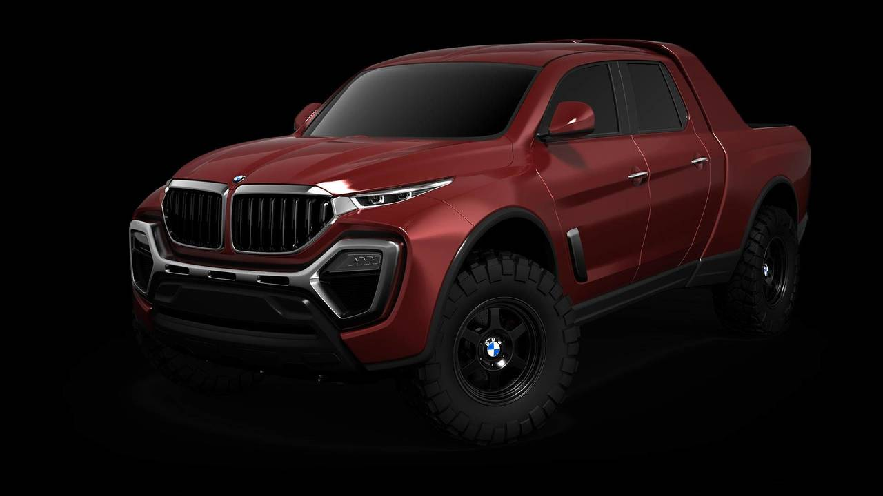 BMW Pickup Rendering