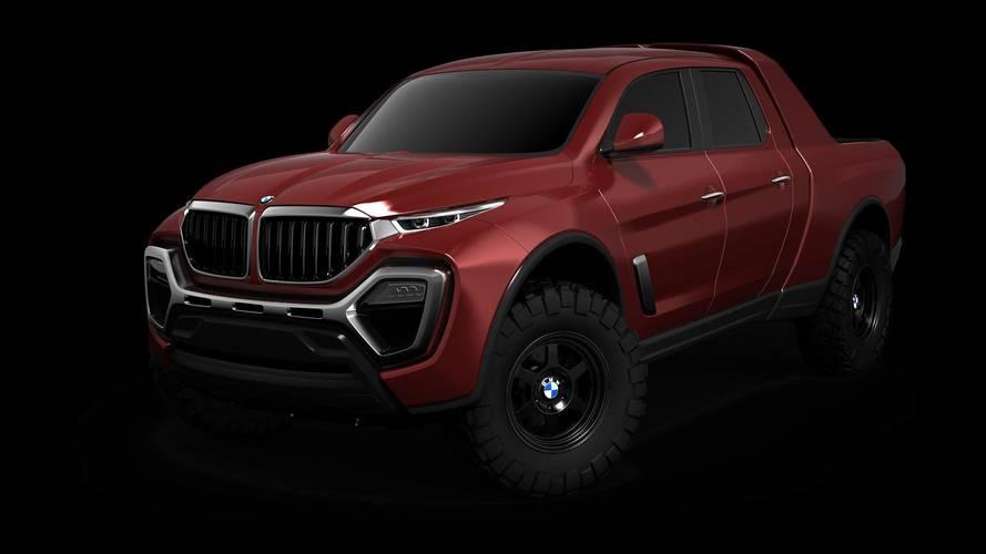 Egy ilyen BMW pickup sok X-osztály vásárlót elcsábíthatna