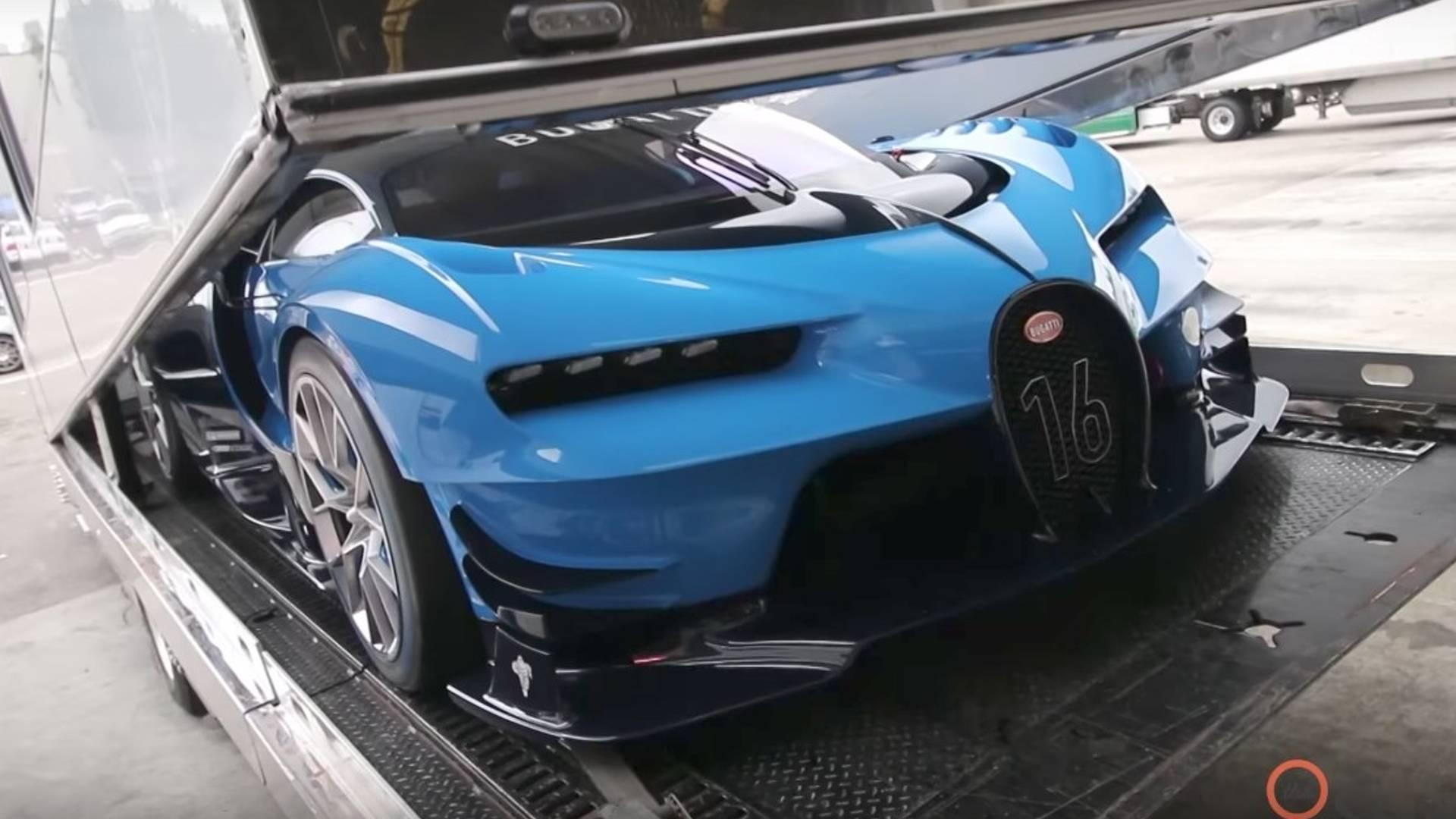 Bugatti Vision Gt Price >> Set Of Spare Tires For The Bugatti Vision Gt Cost 93 000