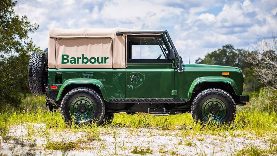 Project Barbour Is A Beautiful Custom Defender That Could Be Yours