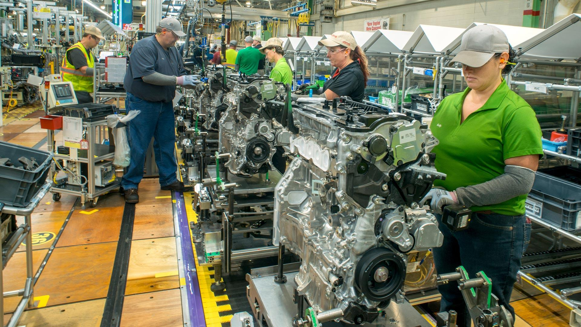 Toyota S First U S Built Hybrid Engine Will Be For Highlander