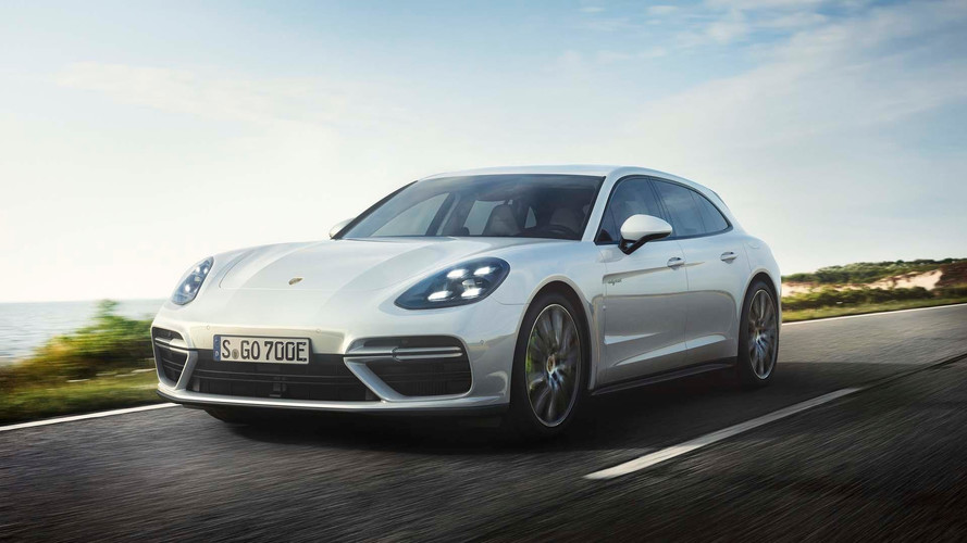 Porsche Panamera Turbo S E-Hybrid Sport Turismo Is A 680-Hp Wagon