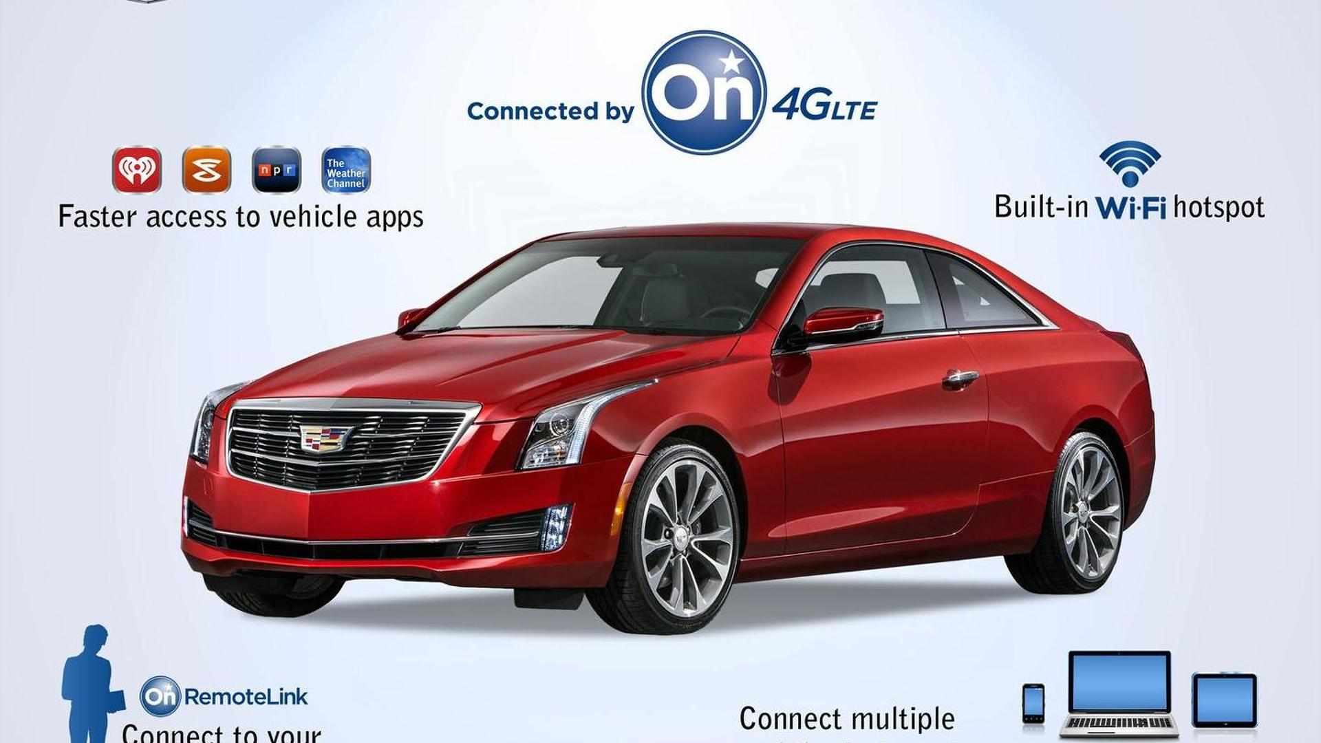 2015 Cadillac ATS Coupe to feature OnStar 4G LTE & CUE Apps