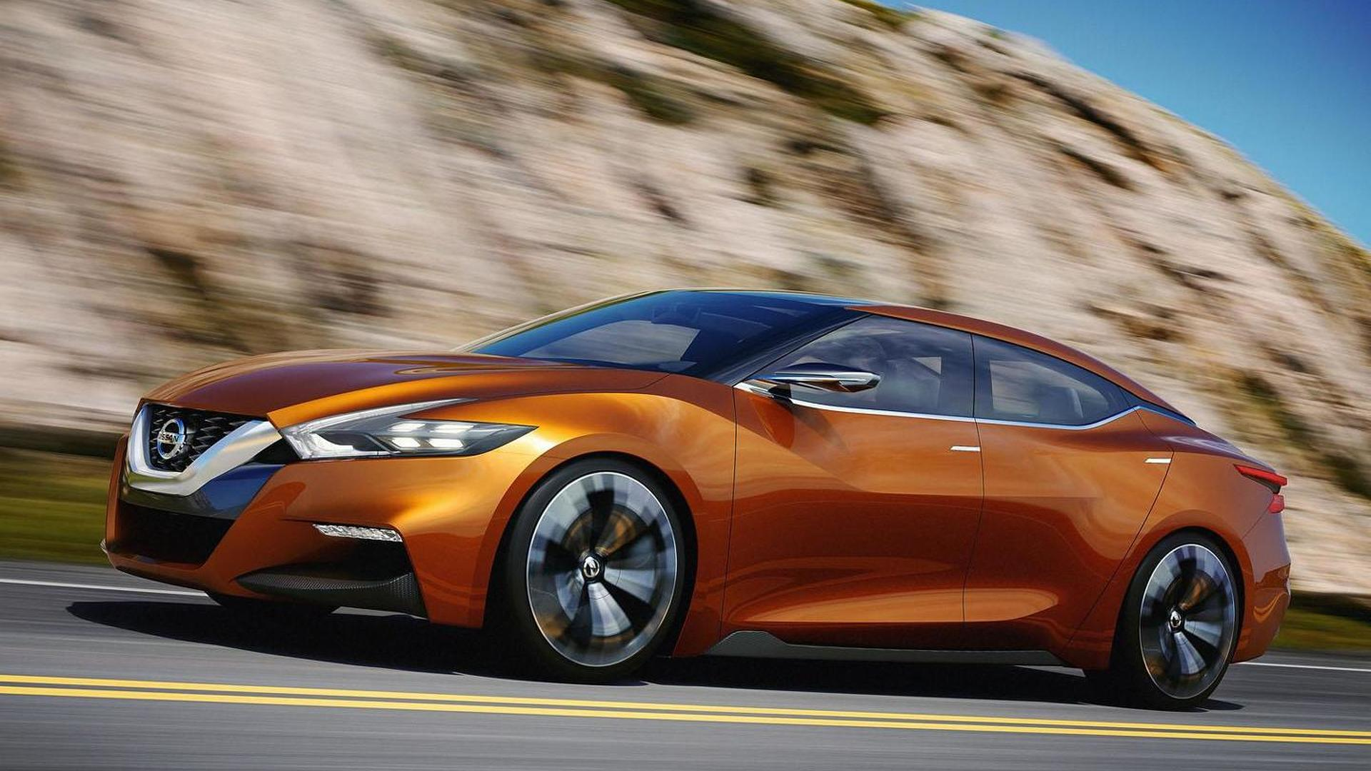 2015 Nissan Maxima >> 2015 Nissan Maxima To Go On Sale This Fall Resemble The