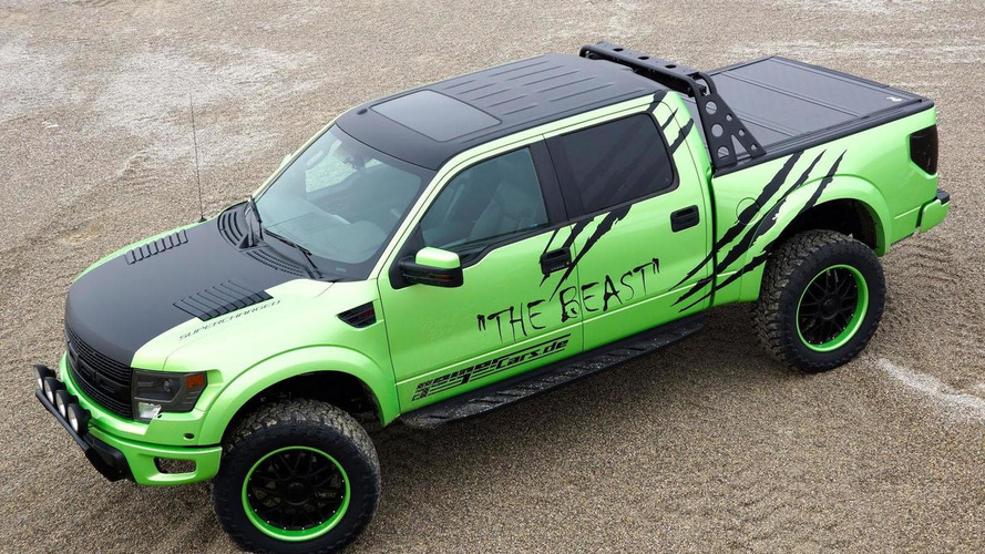 Geigercars unveils the Beast, based on the F-150 SVT Raptor