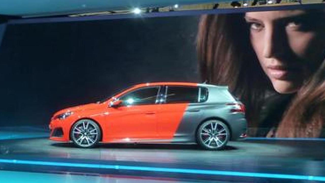 Peugeot 308 R Concept live at 2013 Frankfurt Motor Show