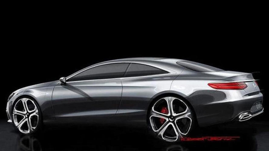 Mercedes-Benz S-Class Coupe concept teased [video]