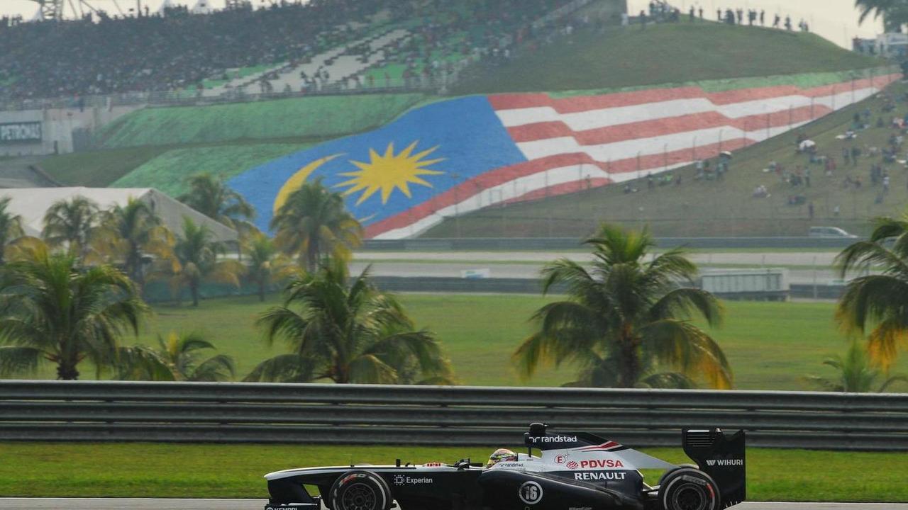 Pastor Maldonado (VEN), 24.03.2013, Malaysian Grand Prix, Sepang / XPB