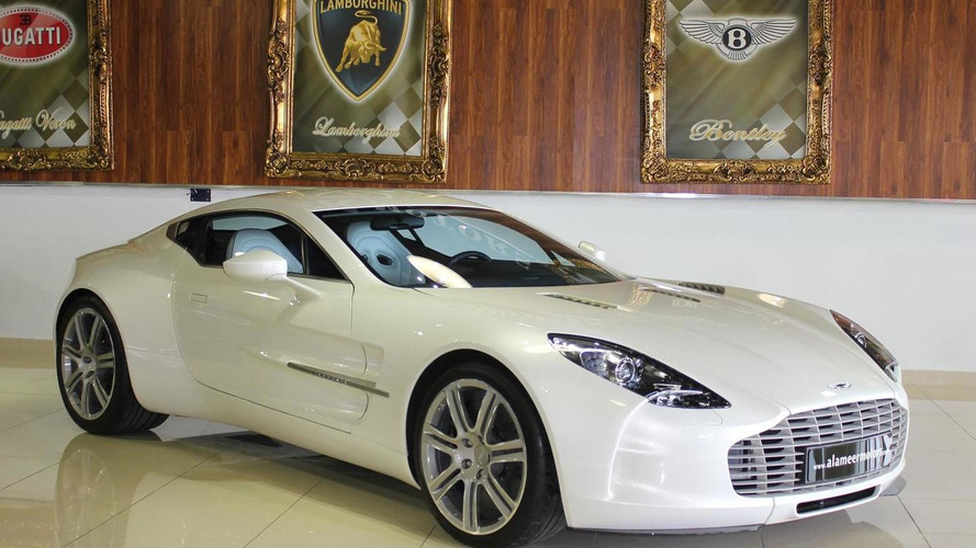 Brand new Aston Martin One-77 on sale for $2 million