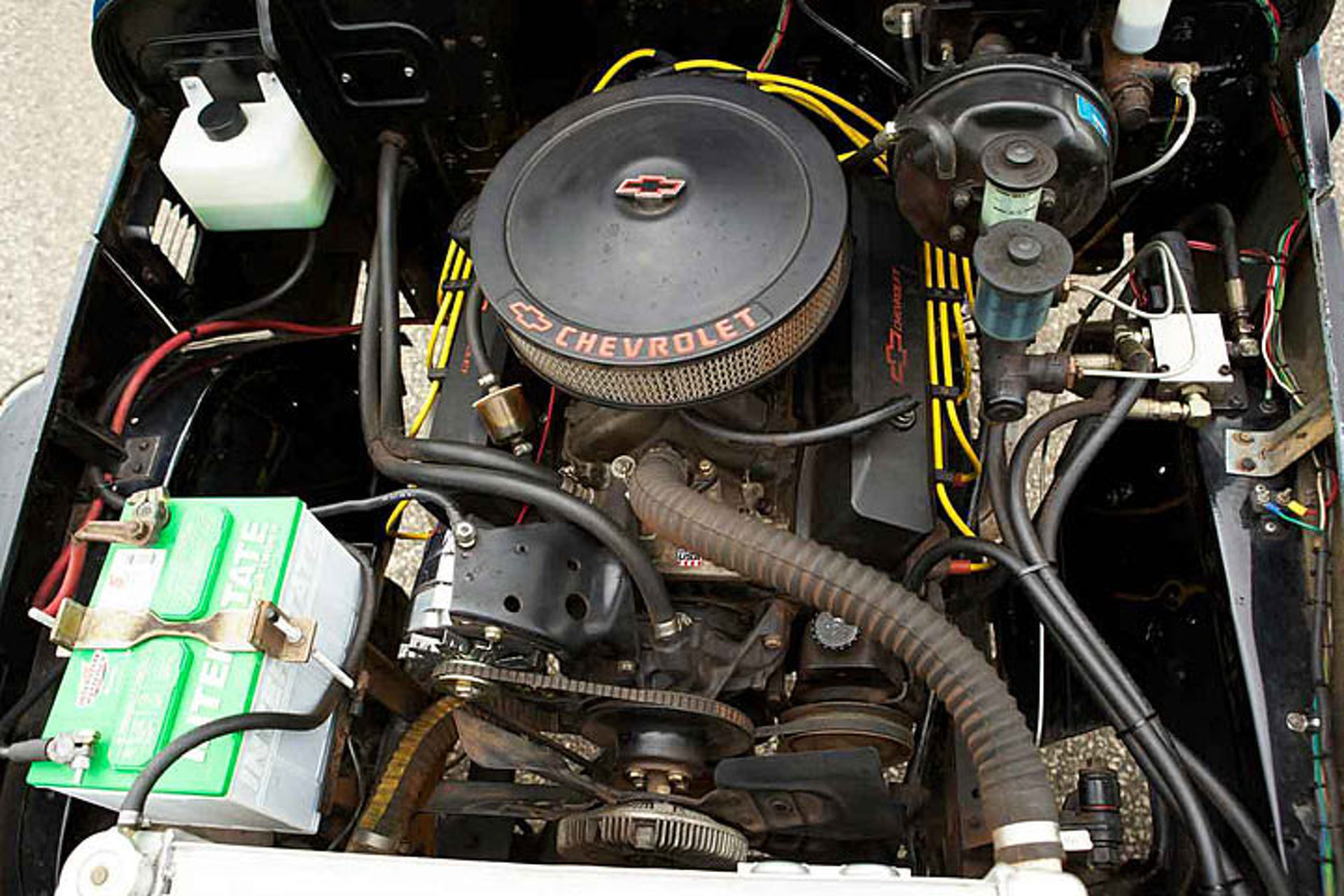 Theres A Chevy V8 Under This Toyota Land Cruiser Brute 1973 Ebay