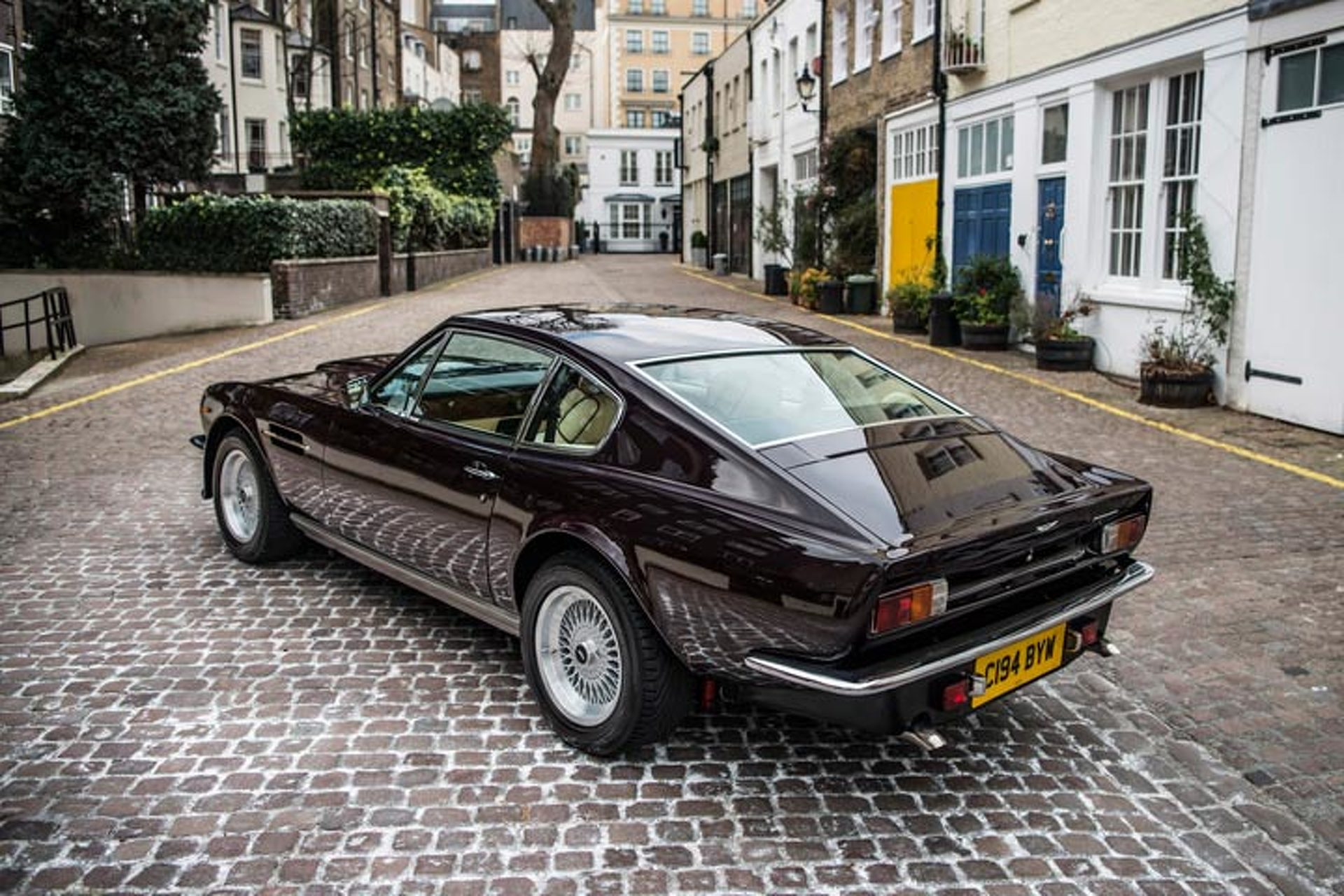 A Rare Sir Elton John Aston Martin Is Up For Sale - Aston martin v8 for sale