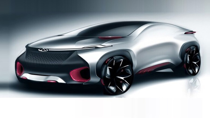 Chinese coupe and SUV concepts teased ahead Beijing