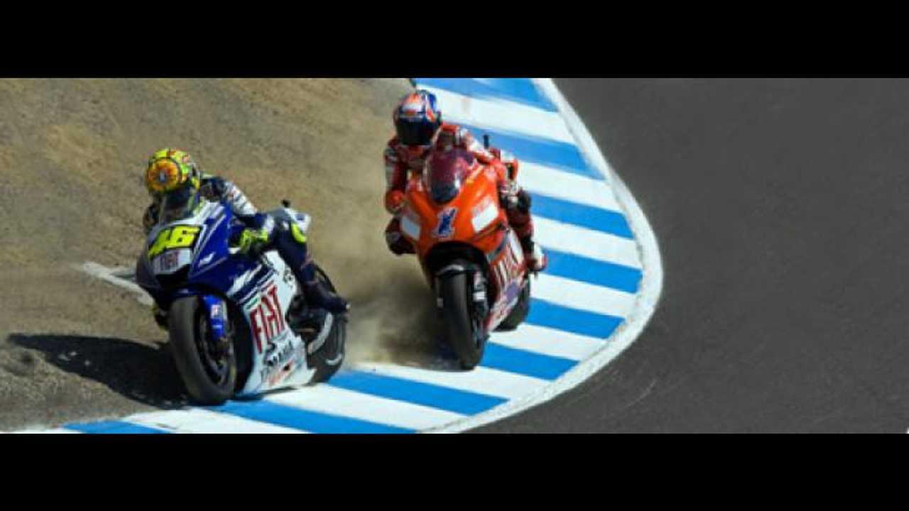 MotoGP 2009, Laguna Seca un anno dopo...