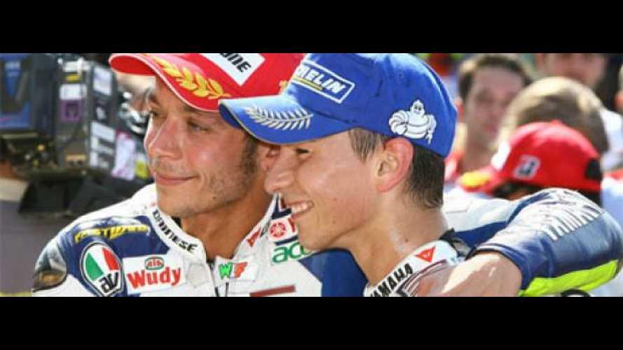 Rossi e Lorenzo: due galli, un solo pollaio