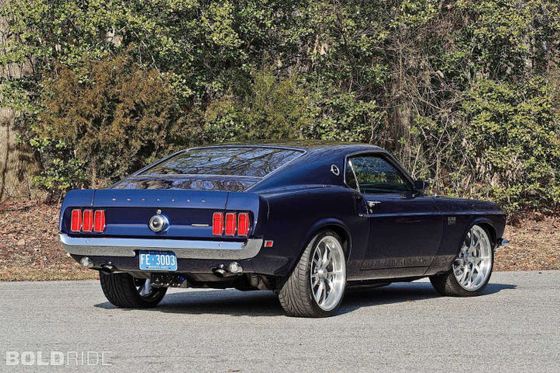 Resto mod ford mustang combines the best of old and new