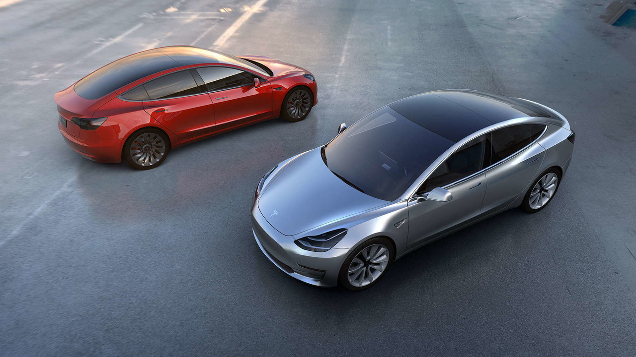 Tesla Model 3 submodel