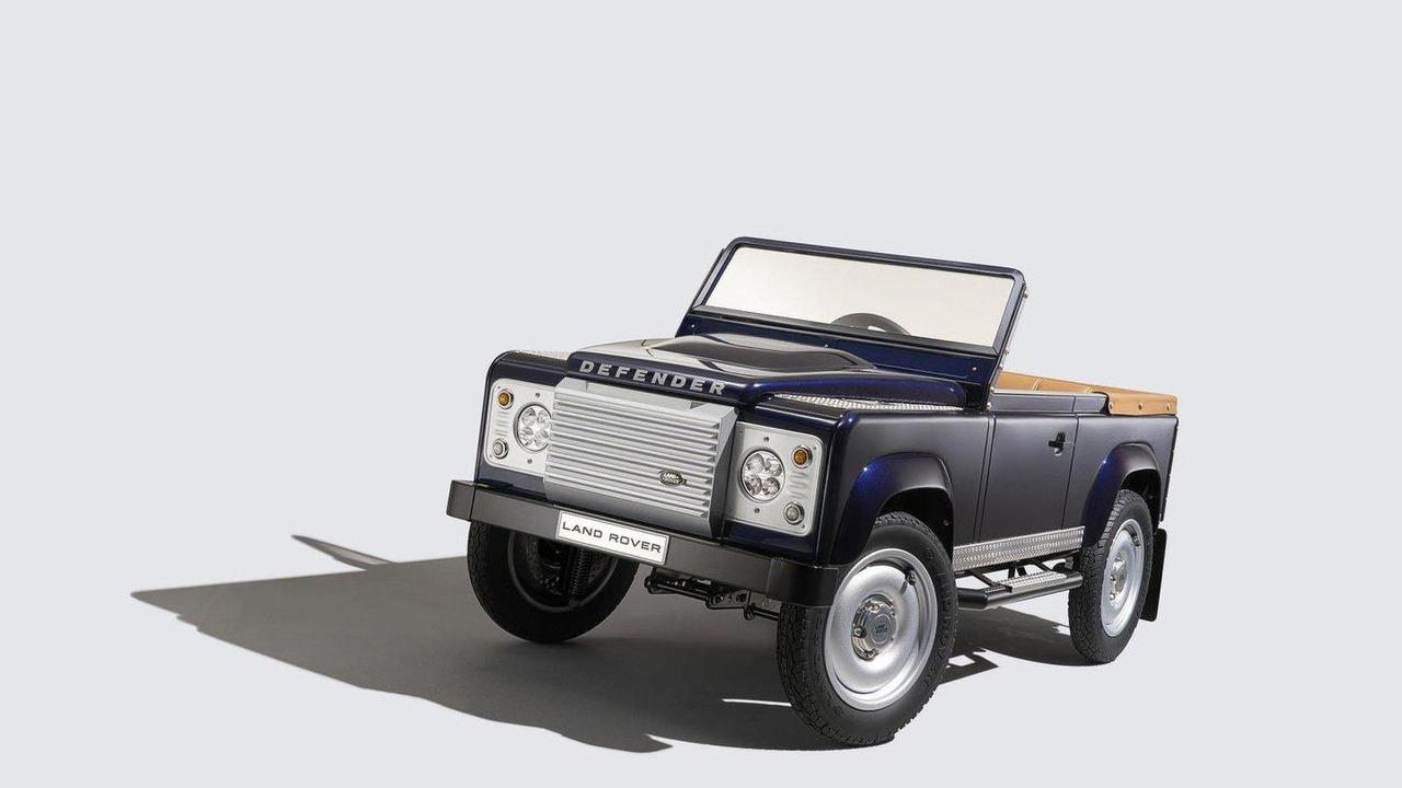 Land Rover Defender Pedal Car concept