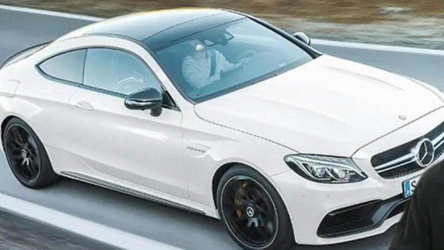 Mercedes-AMG C63 S Coupe reportedly leaks out early