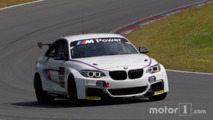Stefan Ehlen testing the BMW M235i Cup Racing