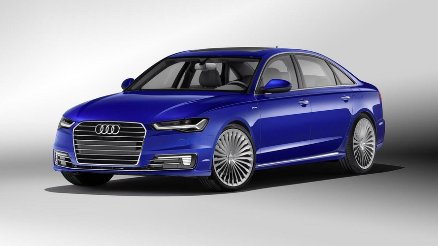 Audi A6 L e-tron plug-in hybrid launching in China with 50 km electric range and 245 PS